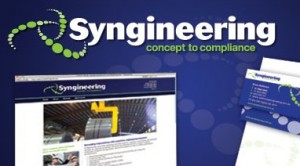 Logo and branding for Syngineering