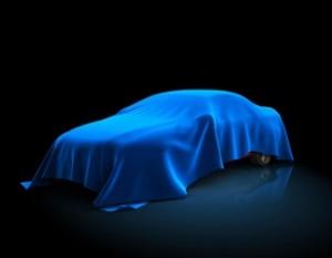 Car under blanket