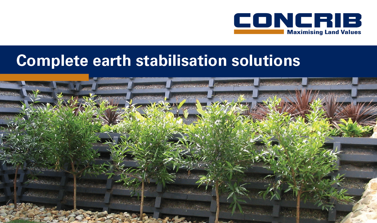 Concrib - complete earth stabilisation solutions